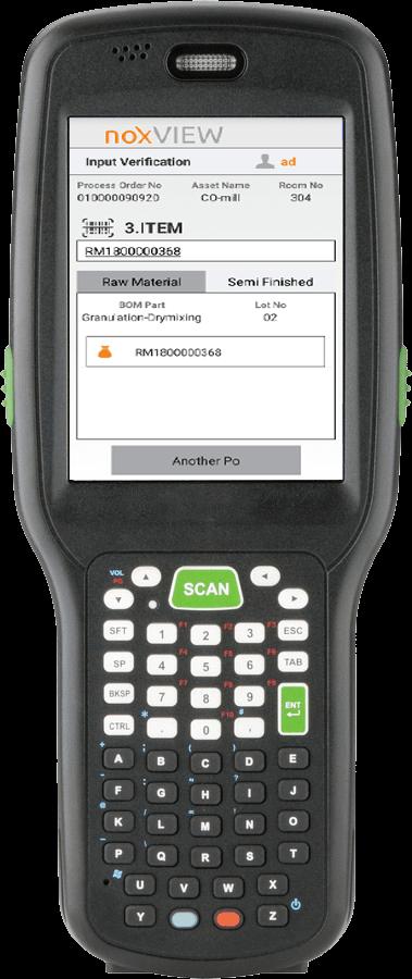 noxVIEW - Handheld Terminal